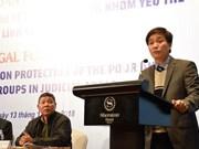 Intercambian en Vietnam experiencias en protección de personas vulnerables en asuntos jurídicos