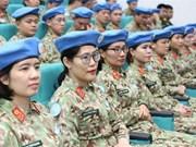 Inauguran curso de capacitación previa al despliegue del segundo hospital de campaña de Vietnam