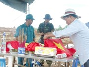 Repatriados restos de mártires vietnamitas caídos en Laos