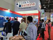 Empresa vietnamita presenta productos en la exposición de construcción de Dubái