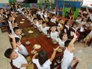 Vietnam despliega proyecto para que más niños accedan al jardín de infancia