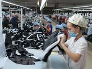 Valor de exportaciones de confecciones textiles de Vietnam registra el más alto en los últimos tres años