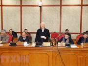 Máximo dirigente político de Vietnam pide a Da Nang ser locomotora para desarrollo del Centro