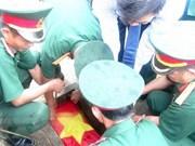 Rinden homenaje póstumo a internacionalistas vietnamitas caídos en Laos