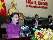 Presidenta parlamentaria de Vietnam exhorta a Da Nang a convertirse en una ciudad inteligente
