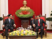 Partidos Comunistas de Vietnam y Japón fortalecen cooperación