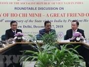 Destacan en la India legados del presidente vietnamita Ho Chi Minh