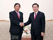 Vicepremier vietnamita recibe al presidente del Partido de Unión, Solidaridad y Desarrollo de Myanmar