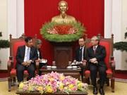 Partido de Unión, Solidaridad y Desarrollo de Myanmar fomentará nexos entre su país y Vietnam