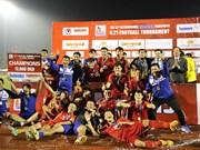 Vietnam gana campeonato internacional de fútbol sub-21 al derrotar a Myanmar en los penaltis