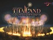 Tailandia organiza fiestas de cuenta regresiva para año nuevo