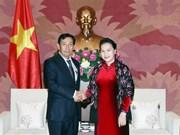 Presidenta del Parlamento de Vietnam aboga por robustecimiento de nexos con Myanmar