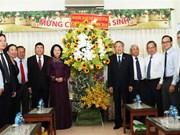 Vicepresidenta de Vietnam felicita a Iglesia Evangélica en ocasión de Navidad