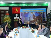 Vicepresidenta de Vietnam felicita a católicos con motivo de Navidad