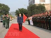 Presidenta del Parlamento vietnamita visita Zona Militar I