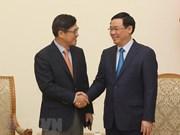 Vietnam asegura óptimas condiciones para operaciones de Samsung, afirma su vicpremier