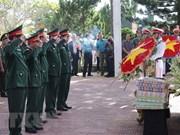 Celebran acto de entierro de restos de mártires vietnamitas en provincias de Gia Lai y Ha Giang
