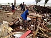 Al menos 168 fallecidos por tsunami en Indonesia