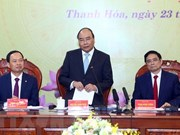 Premier de Vietnam insta a Thanh Hoa a intensificar formación de recursos humanos