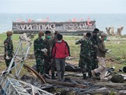 Indonesia utiliza drones y perros para localizar a sobrevivientes del tsunami