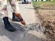 Ataque con bomba en el sur de Tailandia mata a un policía