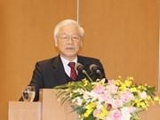 Máximo dirigente de Vietnam instruye tareas para desarrollo socioeconómico 2019