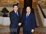 Premier laosiano copresidirá la Reunión 41 del Comité Intergubernamental Vietnam – Laos en Hanoi