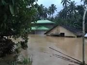 Asciende a 68 la cifra de muertos por el paso de la tormenta Usman en Filipinas