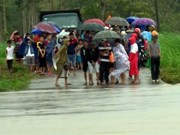 Cuatro fallecidos en centro de Vietnam por lluvias torrenciales
