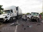 Registran 110 fallecidos en accidentes de tránsito durante asueto por Año Nuevo en Vietnam