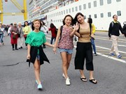 Da Nang recibe a más de dos mil cruceristas extranjeros