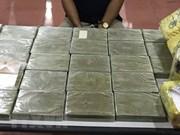 Aduana vietnamita incauta 2,3 kilógramos de droga