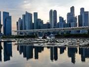 Economía de Singapur crece menos de lo esperado