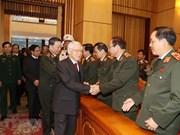Máximo dirigente vietnamita reconoce papel de policía nacional en asuntos globales