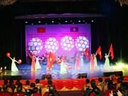 Performance artística promueve amistad especial entre Vietnam y Laos