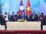 Gobierno de Vietnam y Laos trazan orientaciones para futura cooperación