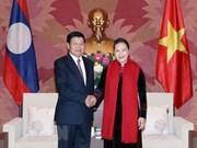 Parlamento vietnamita reafirma respaldo a cooperación intergubernamental con Laos