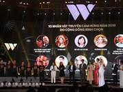 WeChoice Awards 2018 honra a vietnamitas con grandes contribuciones a la sociedad
