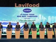 Inauguran mayor planta de procesamiento de frutas y hortalizas en Vietnam