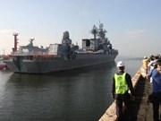 Buques de Rusia visitan Filipinas