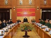Máximo dirigente vietnamita insta al ejército a fortalecer lucha anticorrupción