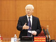 Sesiona Subcomité de documentos del XIII Congreso nacional del Partido Comunista de Vietnam