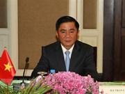 Delegación de comisión de control disciplinario del PCV visita Camboya