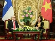 Hanoi fomenta cooperación integral con la Región de Ostrobotnia del Sur de Finlandia