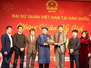 Celebra comunidad vietnamita en Corea del Sur actividad en saludo a Tet