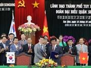 Amplían Vietnam  y Corea del Sur cooperaciones interdistritales