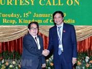 Solicita Camboya ayuda de Vietnam en capacitación de personal informático