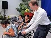 Asistencia estadounidense a discapacitados vietnamitas