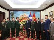 Felicita Vietnam al Ejército Popular de Laos por el 70 aniversario de su fundación