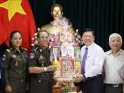 Fortalecen Fuerzas Armadas de Vietnam y Camboya relaciones de amistad